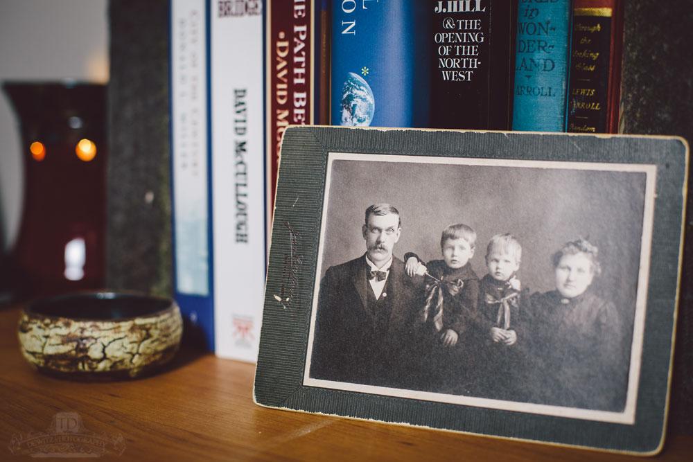 Vintage Family Portrait Cabinet Card