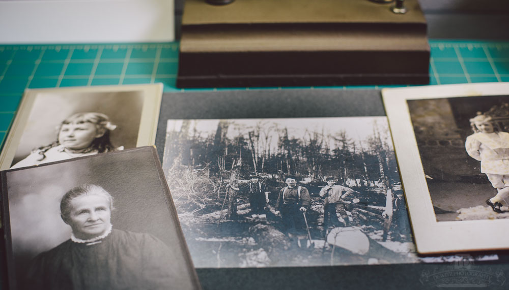 Vintage Logger Photo and Other Cabinet Cards