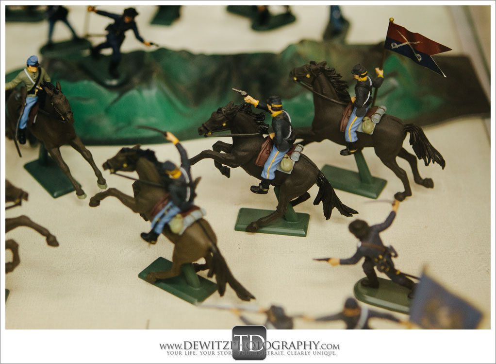 Model Train Classics Eau Claire Civil War Soldiers on Horses