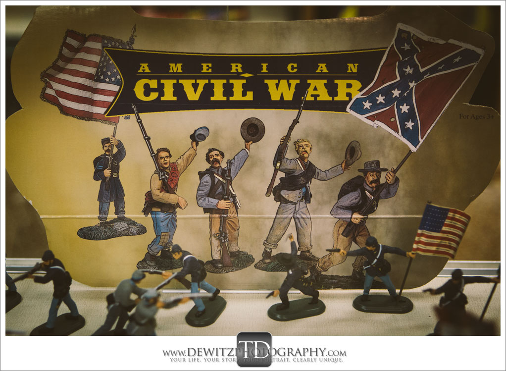 Model Train Classics Eau Claire Metal American Civil War Figurines