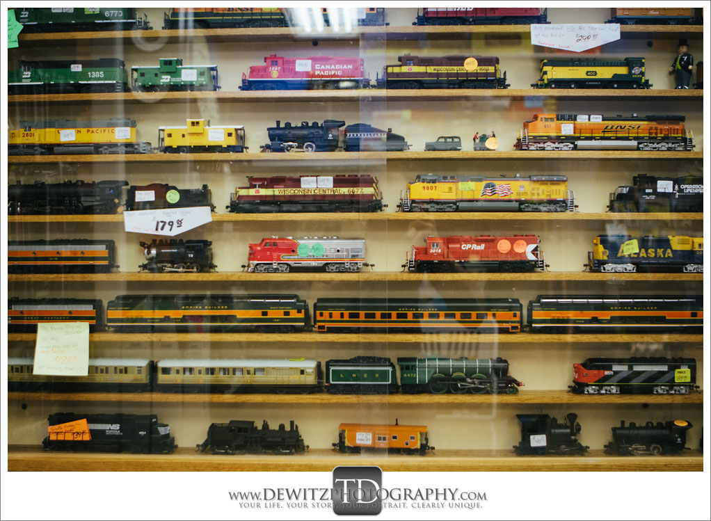 Model Train Classics Eau Claire Trains For Sale in Case