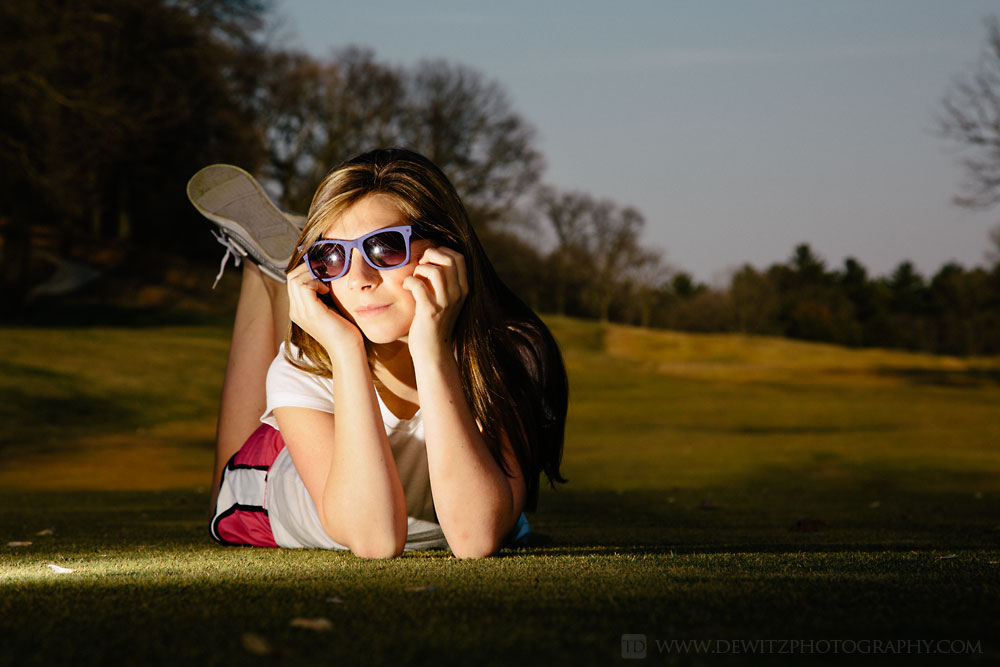 alexa_hanging_out_shades_golf_course