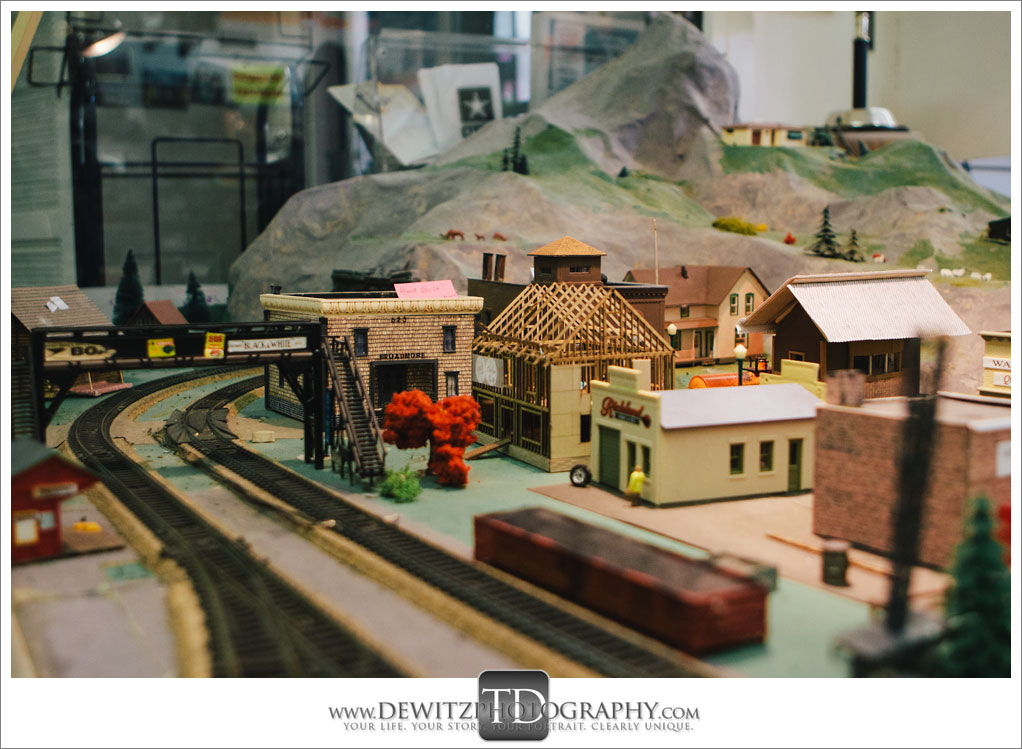 model Train Classics Eau Claire Train Layout With Buildings