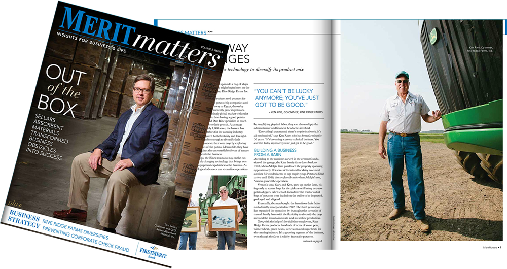 Meritmatters Editorial Corporate Magazine Shoot