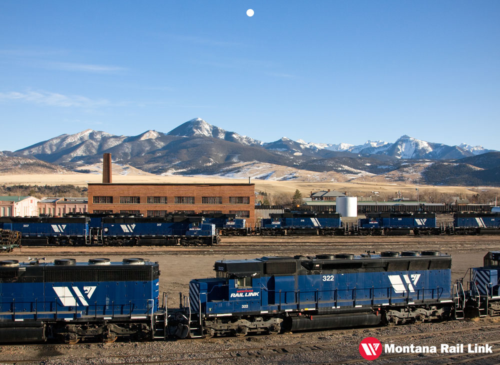 Montana Rail Link 2014 Calendar Winner