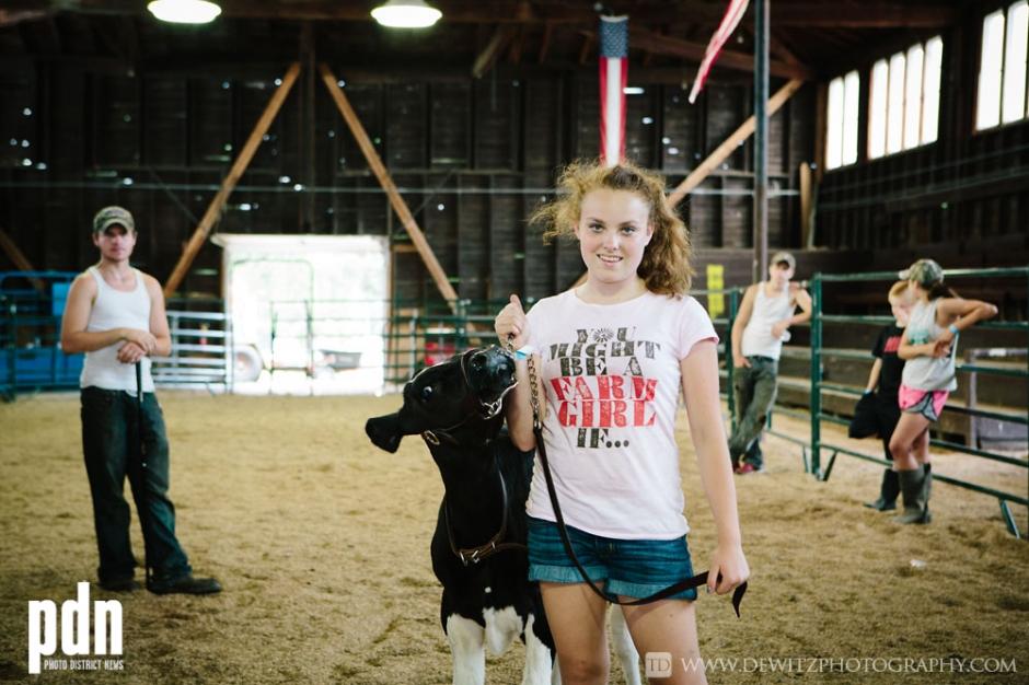 PDN Contest Winner Northern Wisconsin State Fair - American Farm Girl