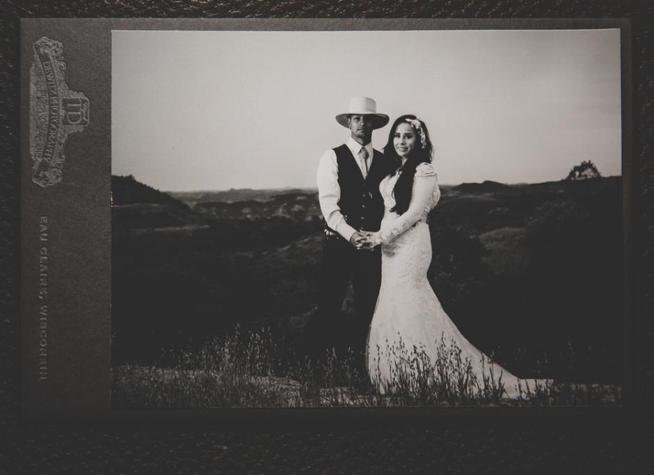 Native American Wedding Cabinet Card