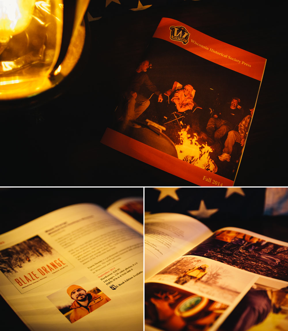 Blaze Orange Wisconsin Historical Society Press Fall 2014 Catalog