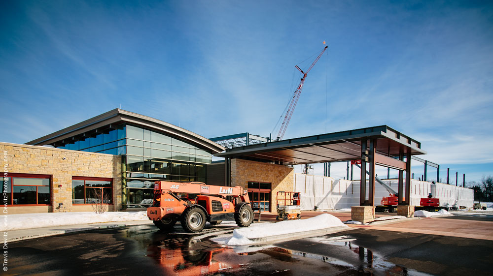 Sauk Prairie Hospital Construction Exterior
