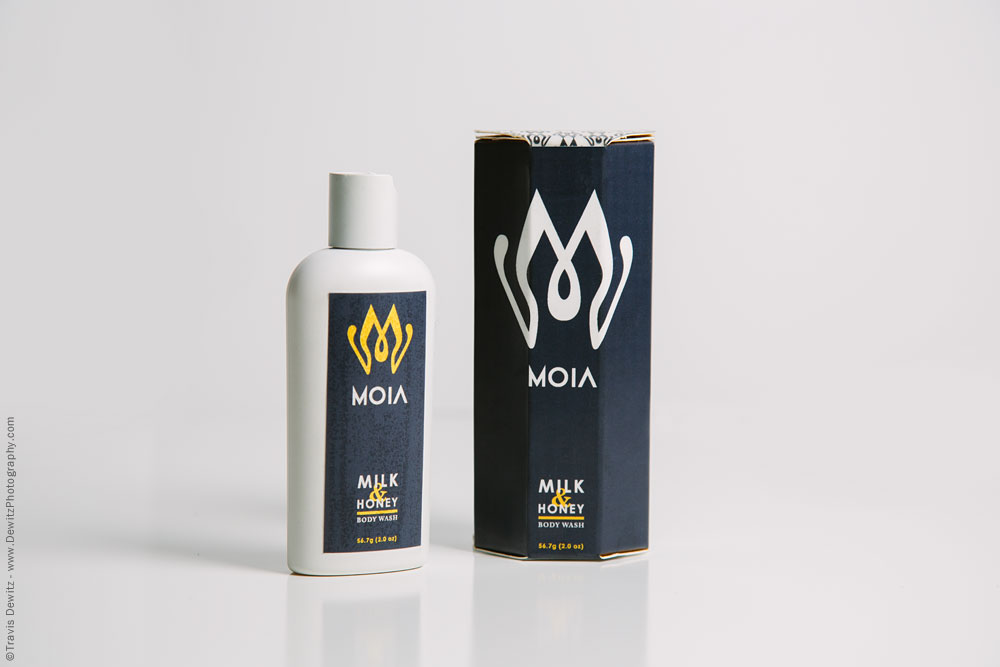 Moia Milk and Honey Body Wash