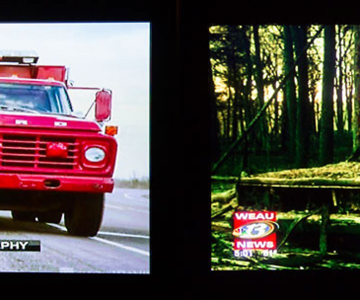 Weau Channel 13 News Airs A Few Of My Wildfire Photos