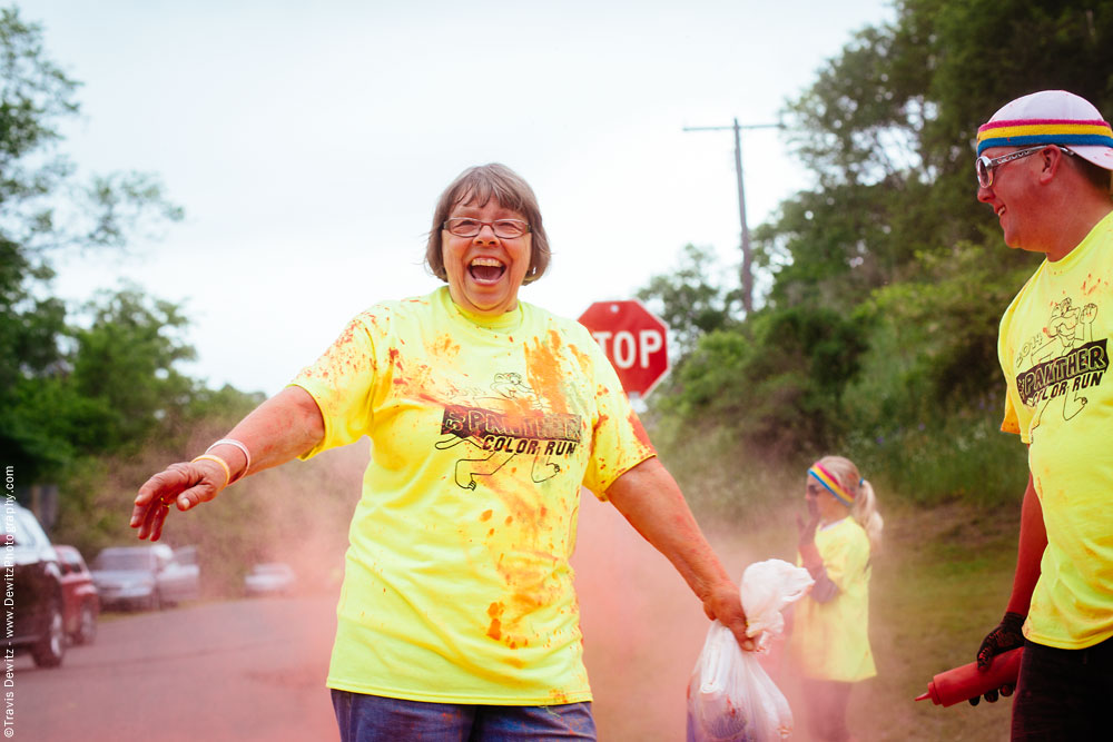 panther_color_run_woman_laughing_during_run