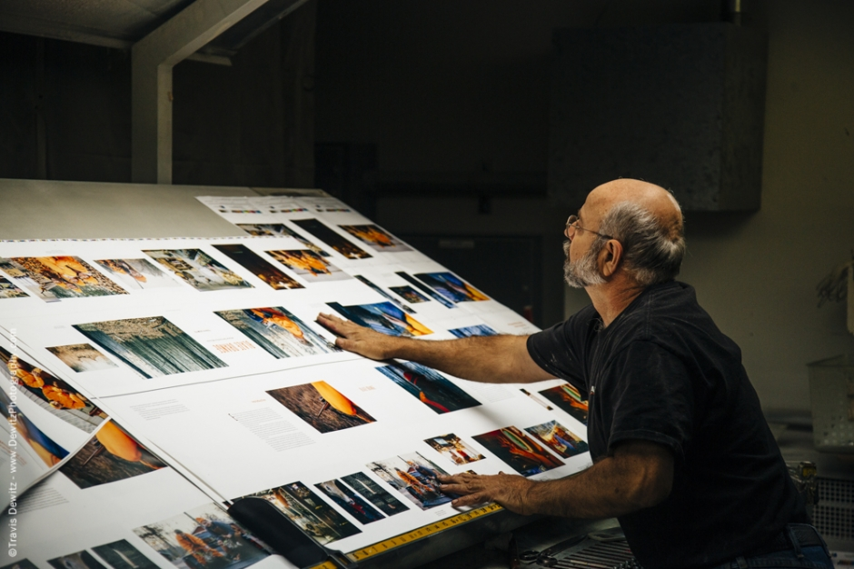 Blaze Orange Book - Worzalla Publishing- Book Sheet Inspection