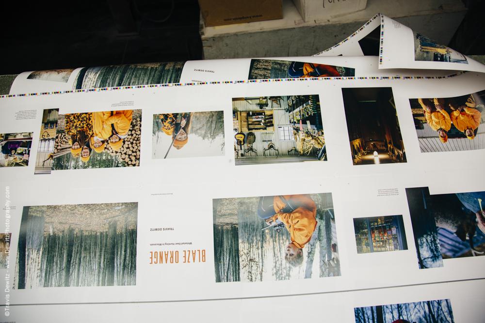 Blaze Orange Book - Worzalla Publishing- First Pages
