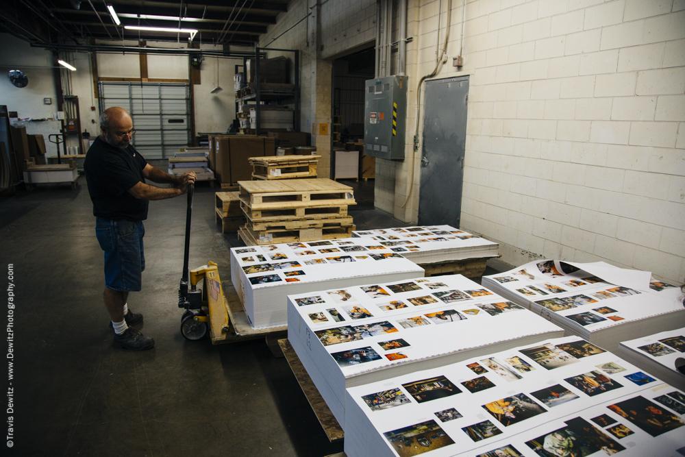 Blaze Orange Book - Worzalla Publishing- Pallets of Book Sheets