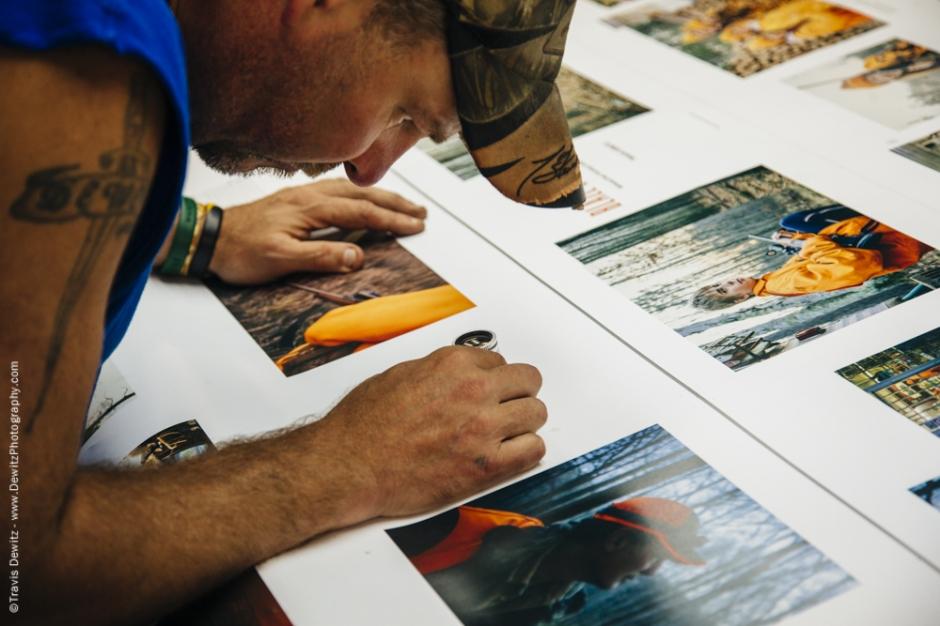 Blaze Orange Book - Worzalla Publishing- Press Sheet Spot Check