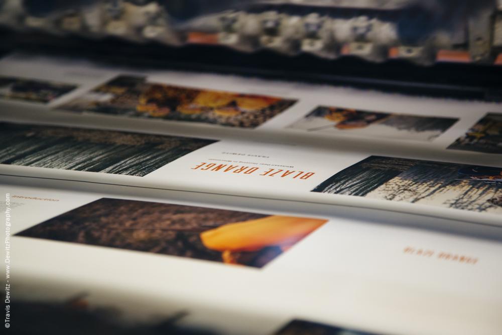 Blaze Orange Book - Worzalla Publishing- Printed Press Paper