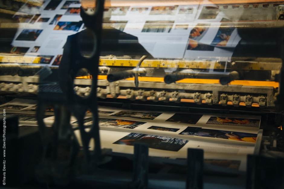 Blaze Orange Book - Worzalla Publishing- Roland 800 Running Paper Sheets