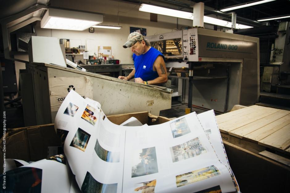Blaze Orange Book - Worzalla Publishing- Scrap Inspection Sheets