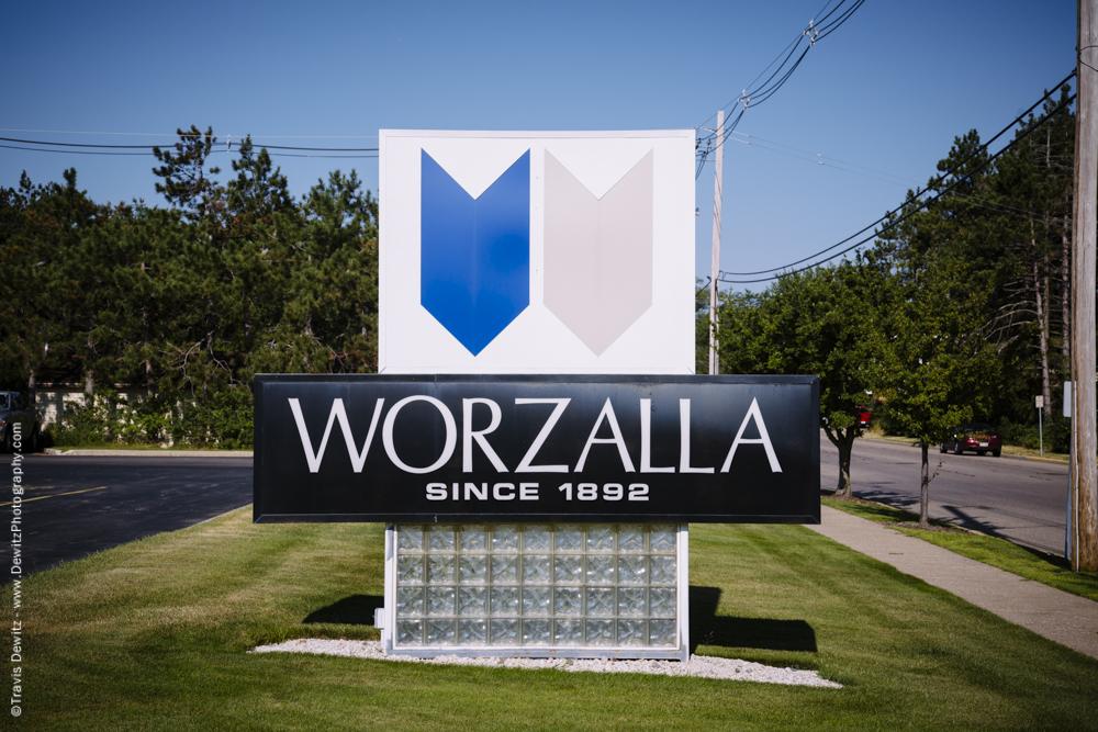 Blaze Orange Book - Worzalla Publishing Sign