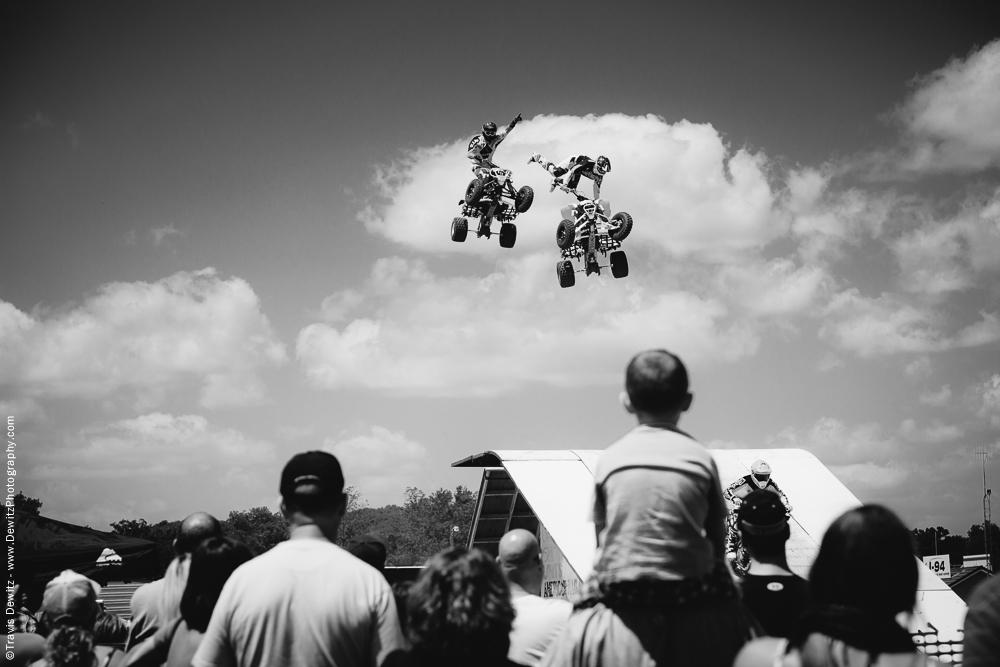 Northern Wisconsin State Fair 4 Wheeler Stunt Show