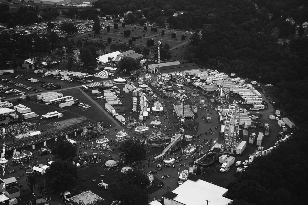 Northern Wisconsin State Fair Aerial View