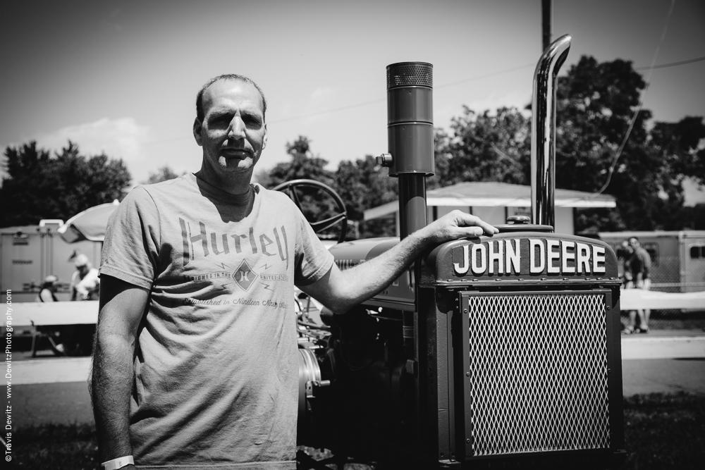 Northern Wisconsin State Fair Antique John Deere Tractor