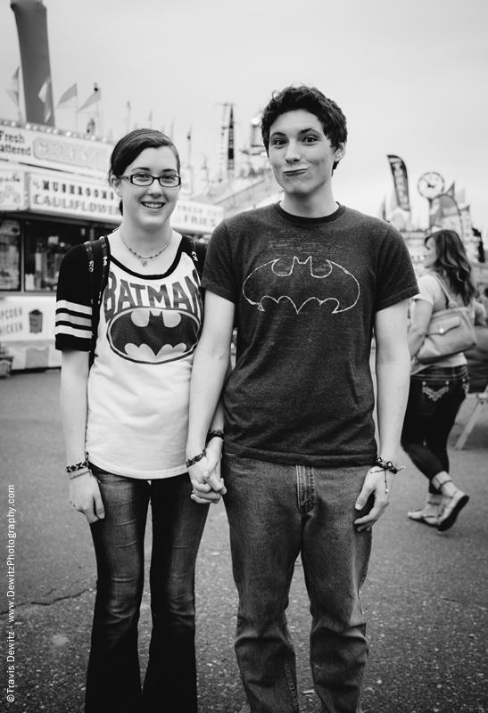 Northern Wisconsin State Fair Batman Couple