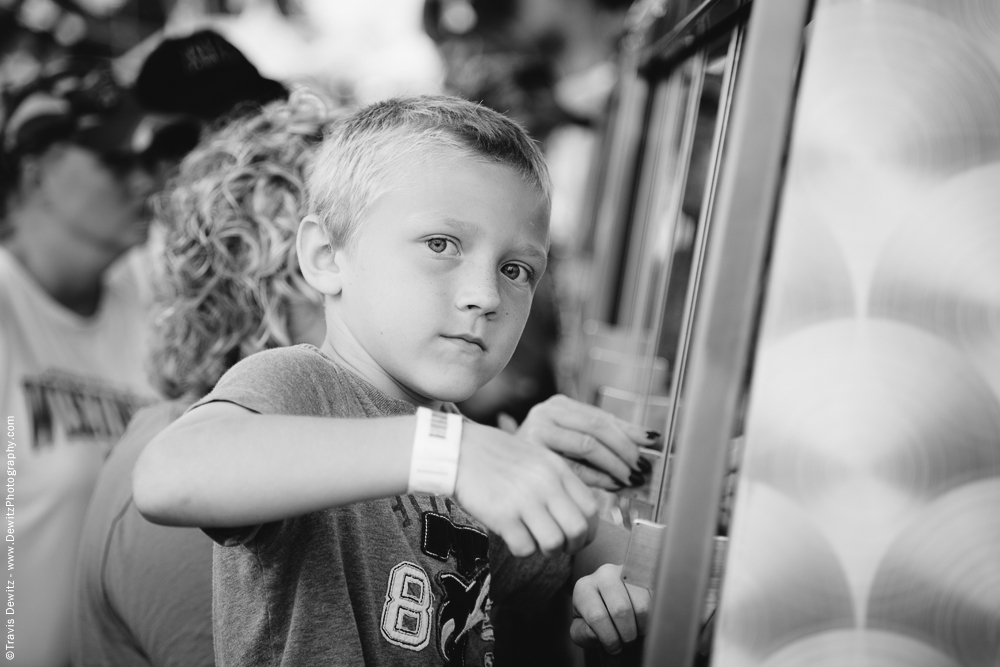 Northern Wisconsin State Fair Boy Playing Games