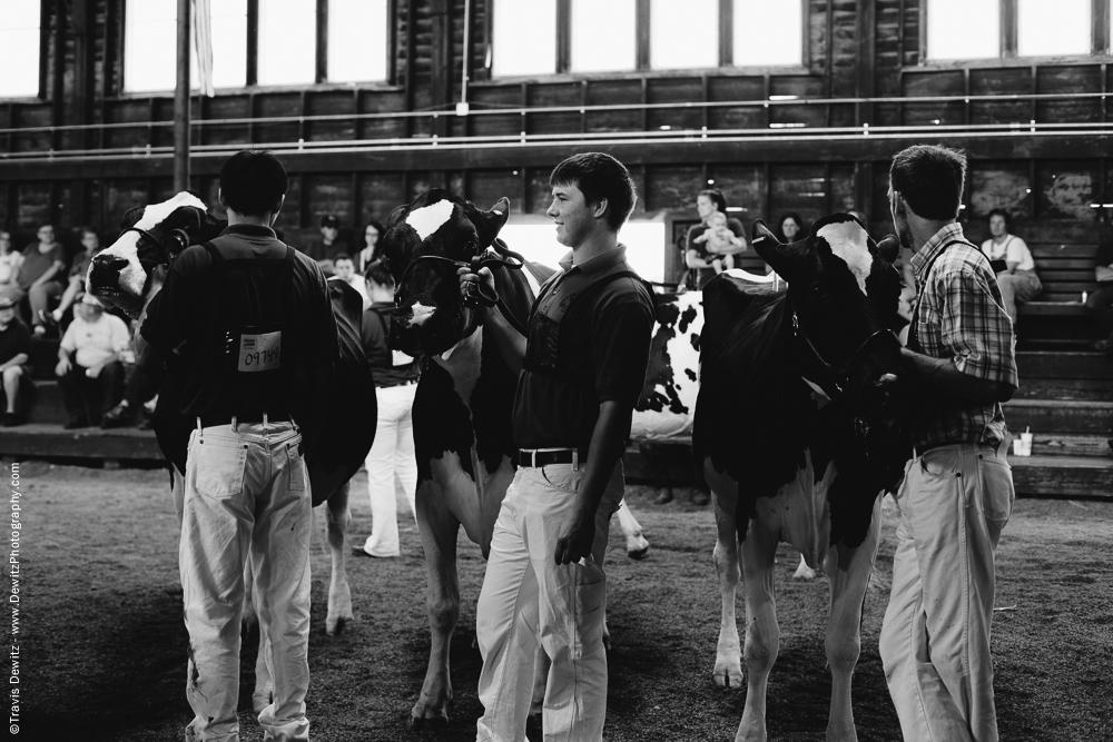 Northern Wisconsin State Fair Cattle Showmen