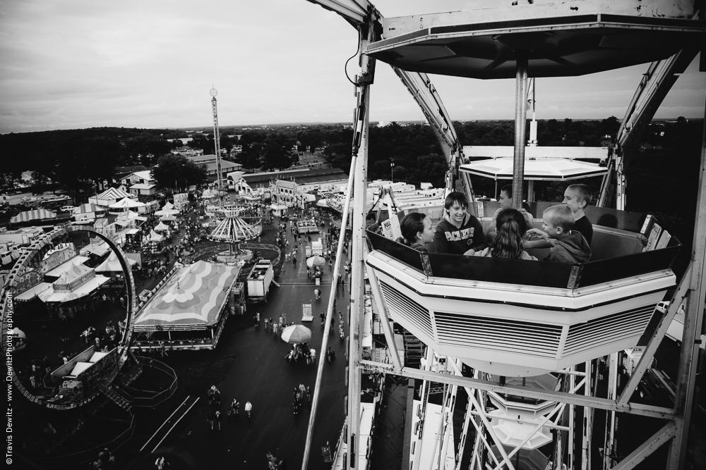 Northern Wisconsin State Fair Ferris Wheel Ride