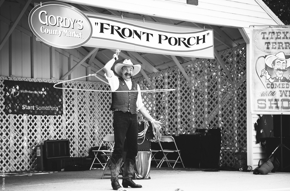 Northern Wisconsin State Fair Gordys Front Porch Stage With T Texas Terry