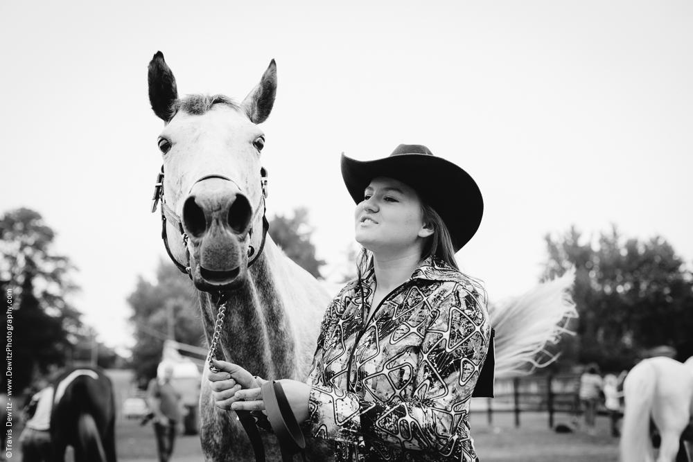 Northern Wisconsin State Fair Horse Portrait