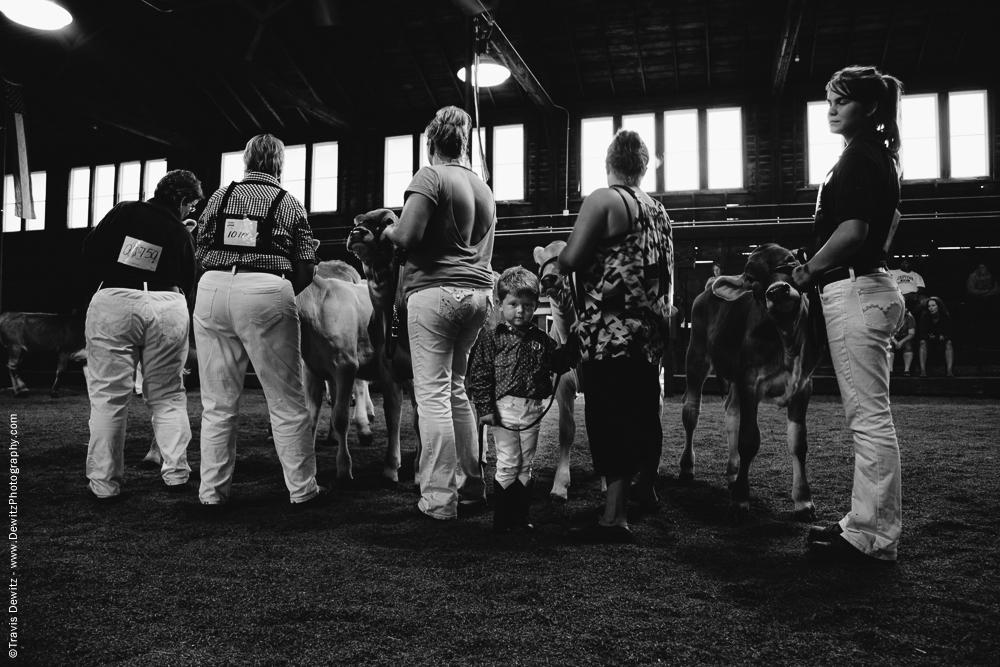 Northern Wisconsin State Fair Little Boy Helps