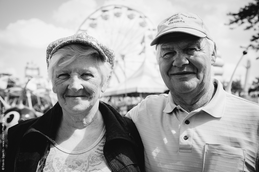 Northern Wisconsin State Fair Old Couple