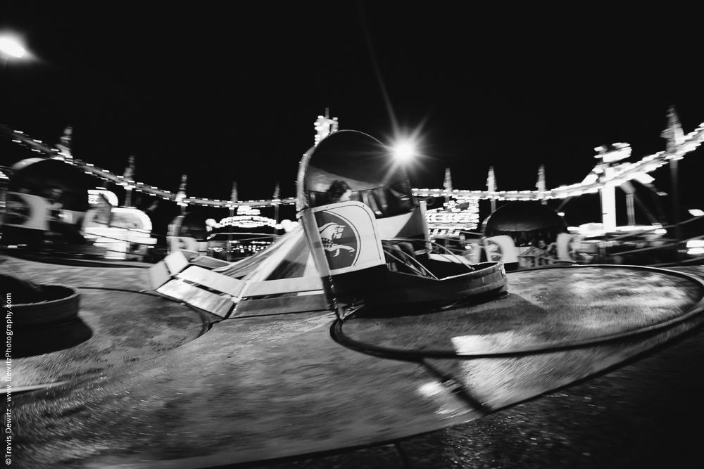 Northern Wisconsin State Fair Spinning in the Dark