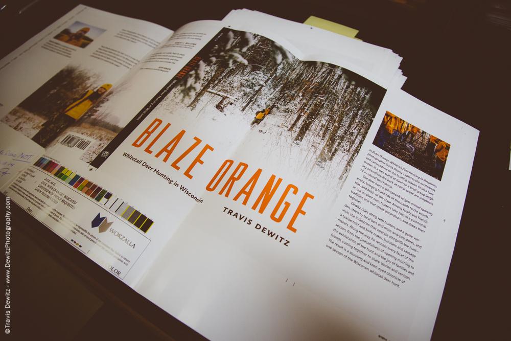 Wisconsin Historical Society Press Blaze Orange Whitetail Deer Hunting Book-9