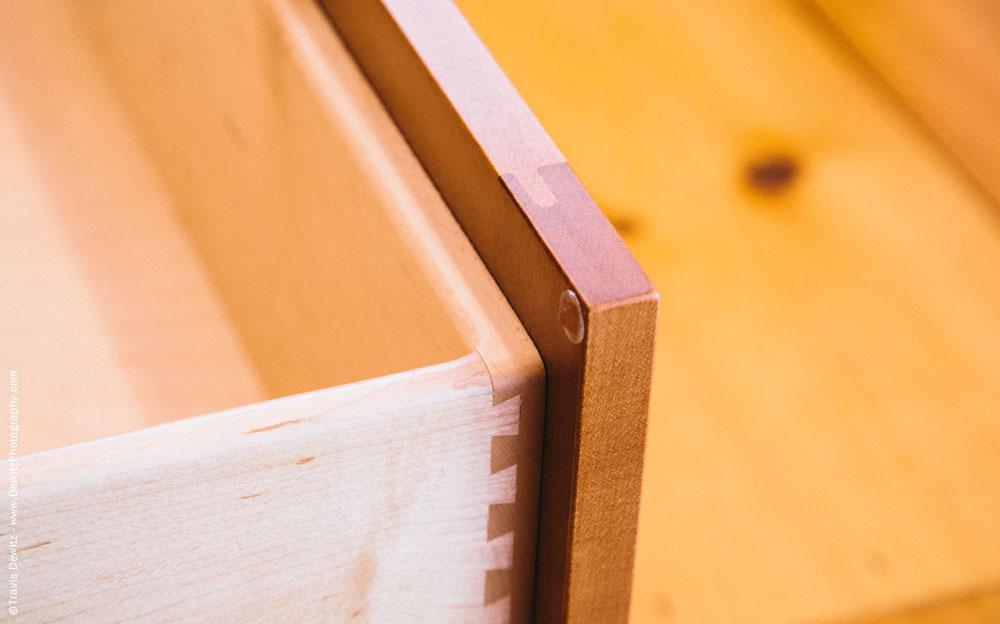 dovetail Designs - Custom Kitchen Cabinets Dovetail Detail