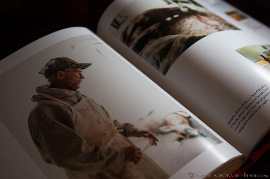 Blaze Orange Wisconsin Hunting Book- Deer Processing Portrait