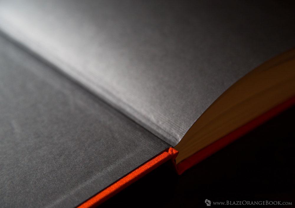 Blaze Orange Wisconsin Hunting Book- High Quality Binding