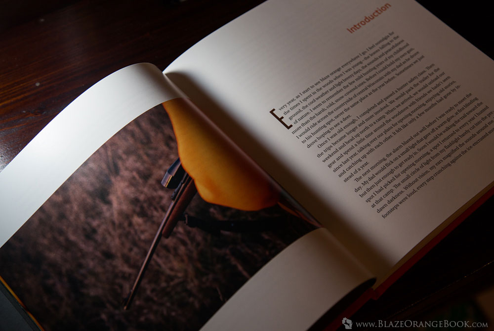 Blaze Orange Wisconsin Hunting Book-Introduction