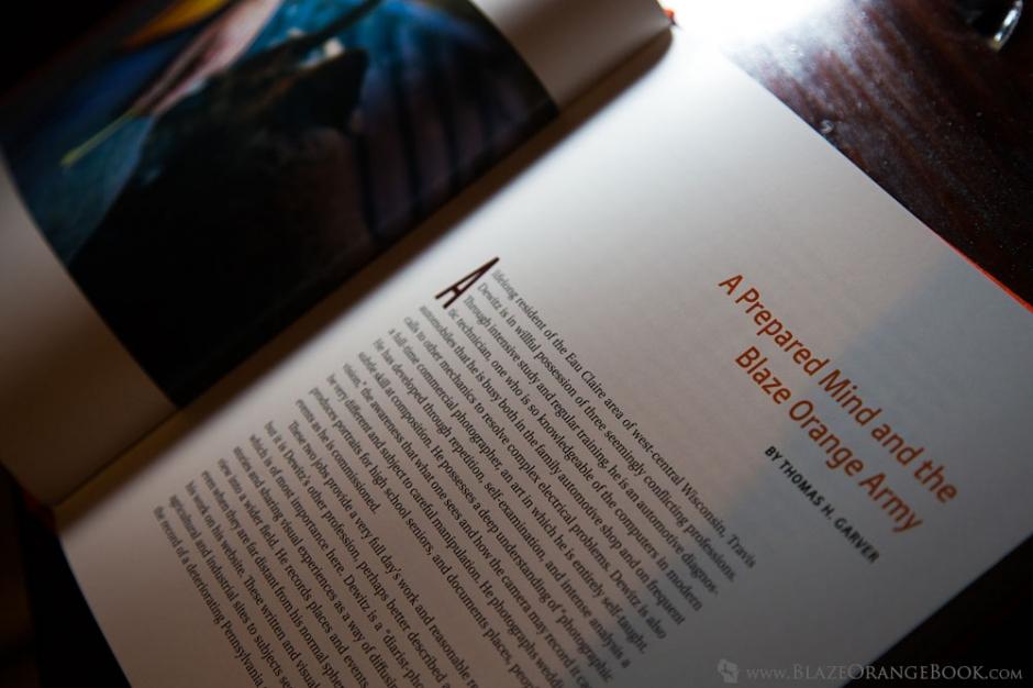 Blaze Orange Wisconsin Hunting Book- Preface