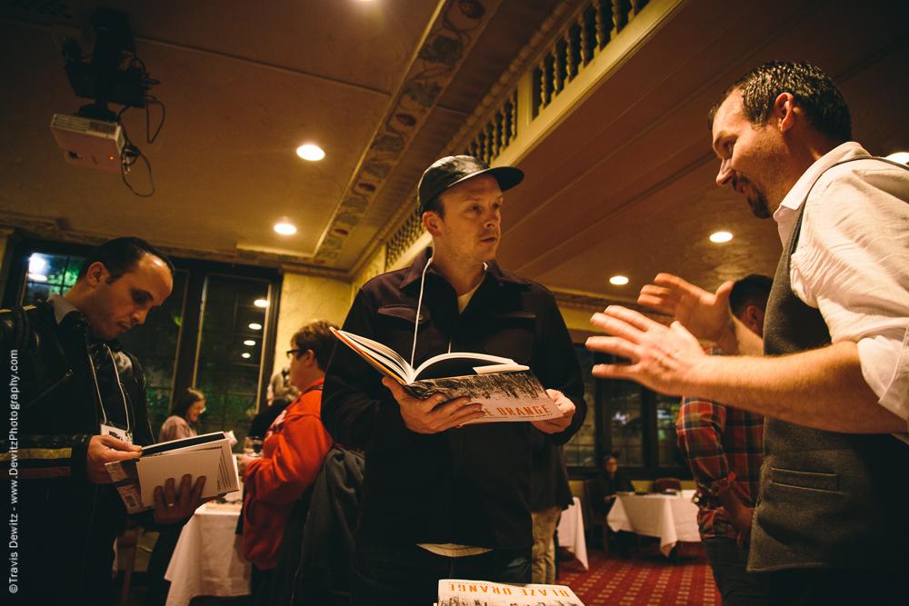 Travis Dewitz Author Event With Blaze Orange University Club