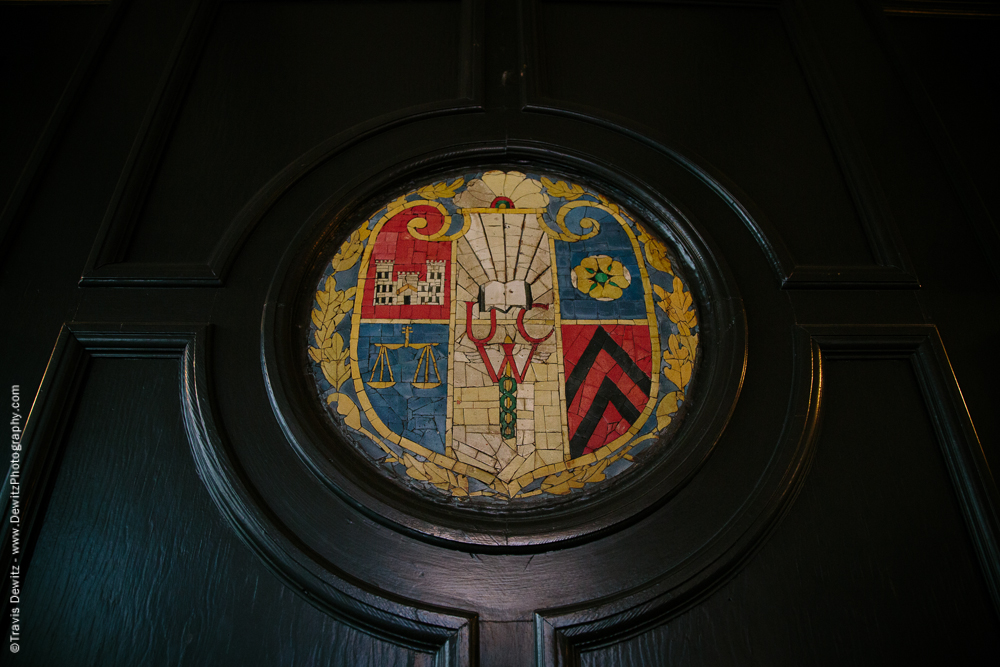 University Club Stone Inlay Sheild