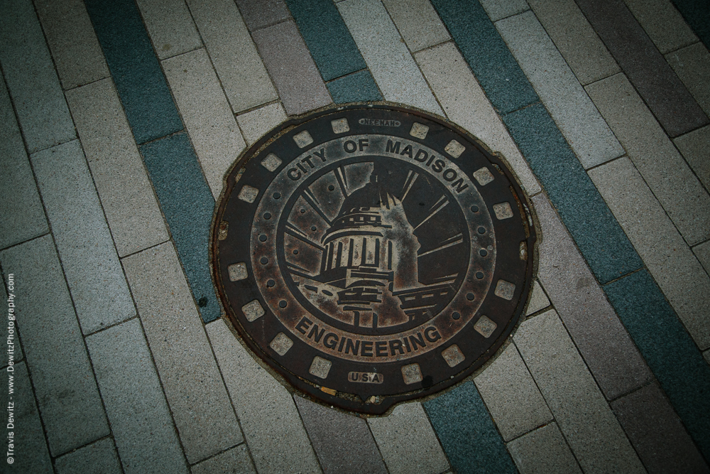 University of Wisconsin Engineering Man Hole Cover