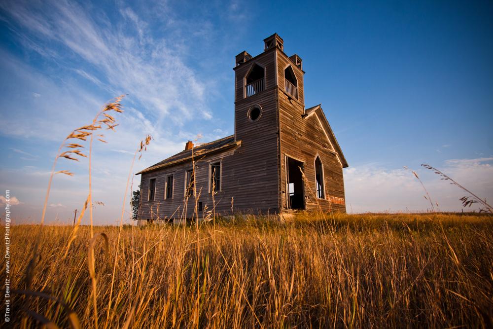 Castle Like Church Abandoned