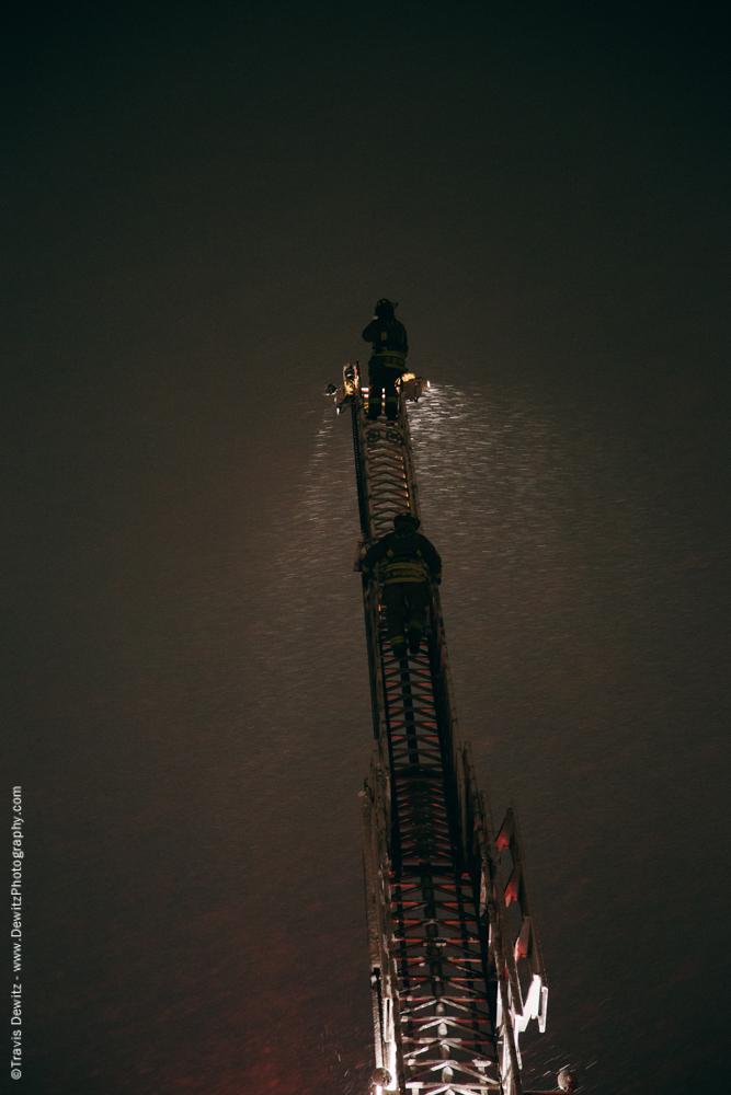 Fireman on Ladder