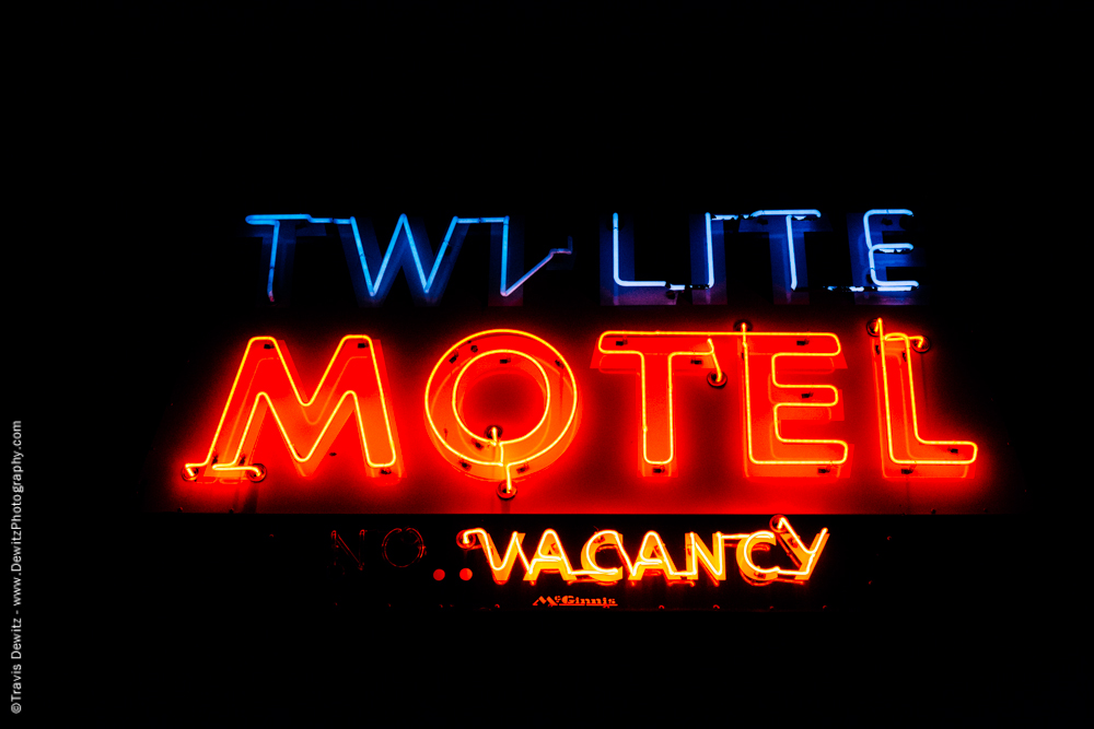 Neon Twilight Motel