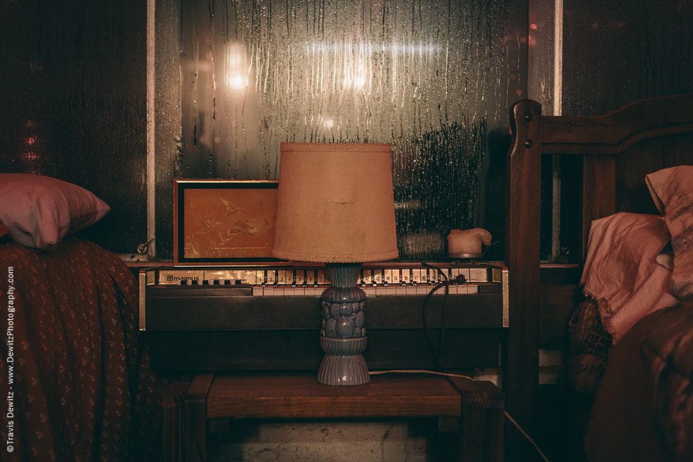 Organ and Lamp