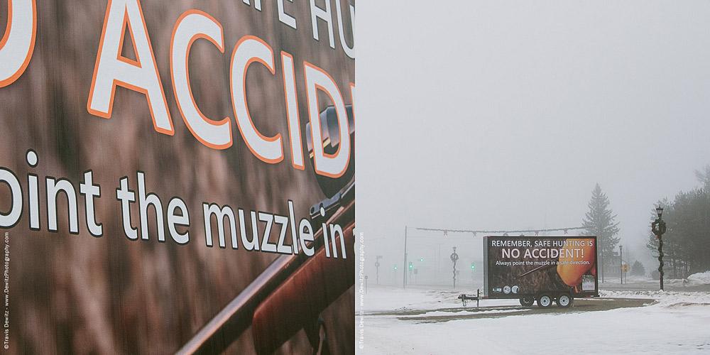 Blaze Orange Billboard Sharpness and Readability